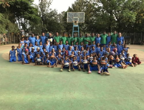2017: Primera Escola de Minibàsquet a Etiòpia.