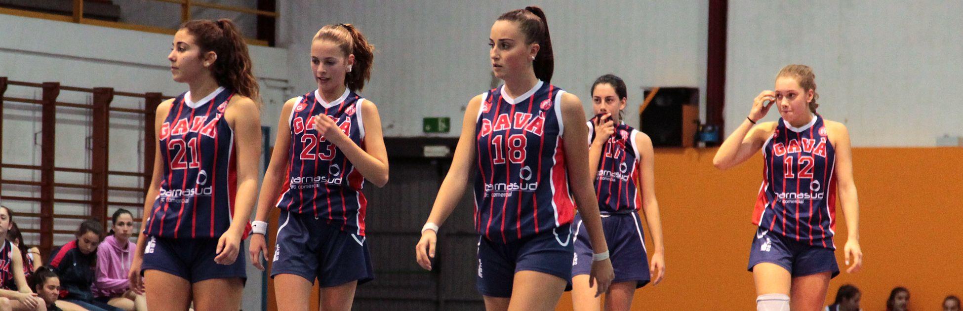 Club de basquet gava. equip femeni