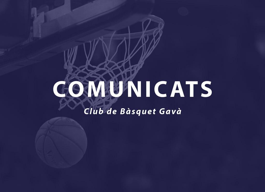 Resultats Club Basquet Gava